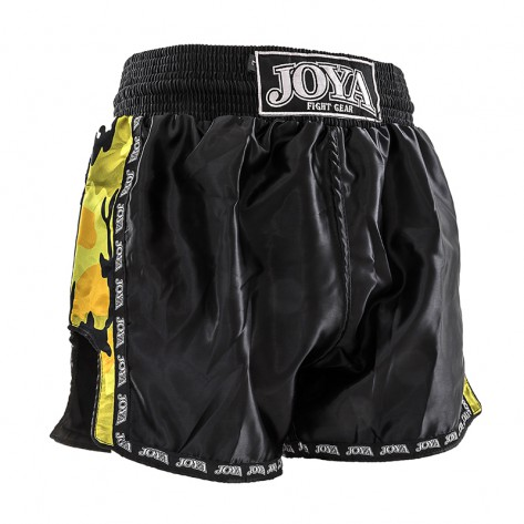 "Joya Kickboxing Short ""Camo Yellow"""