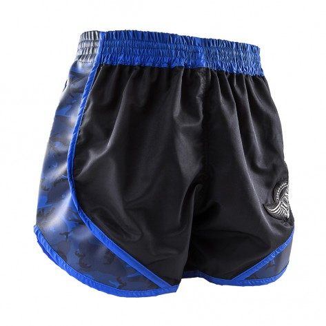 "Joya Kickboxing Shorts ""Pro Thai"" Army Blue"