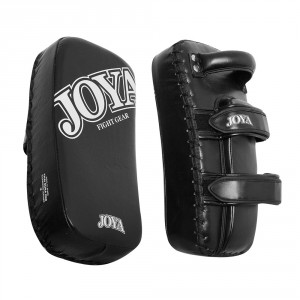 "Joya Thai Dura Pads ""Kickboxing"" Leather Black"