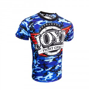 "Joya T-Shirt ""Camo Blue"""