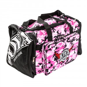 "Joya ""PINK CAMO"" GYM BAG"