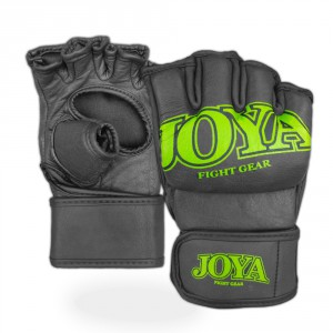 "Joya ""Fight Fast"" Leather MMA Grip Green"