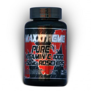 Maxxtreme Pure Vitamin C-1000 +50mg Rosehips