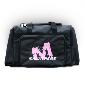 "Maxxtreme Sporttas Sports Bag ""Standaard"" Black with pink logo"