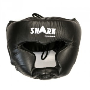 shark_headguard_leather_front