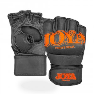 "Joya ""Fight Fast"" Leather MMA Grip Orange"